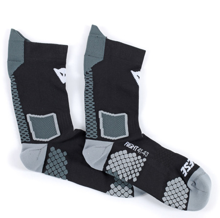 Skarpety Dainese D-Core Mid Sock czarno szare